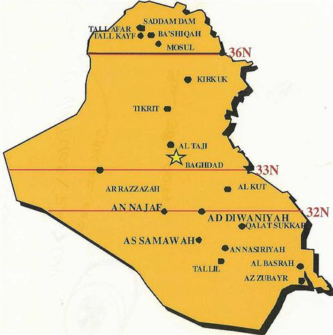 tikrit iraq map with Tallil on Central Baghdad additionally Iraq Maps further C  Scania Iraq together with Tallil together with Irak Haritasi.